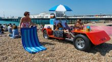 ​World's first drivable deck chair unveiled in Brighton