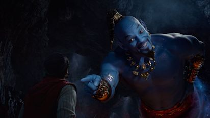 'Aladdin' stars blame Genie backlash on unfinished CGI