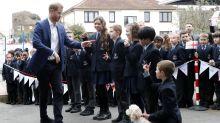 School boy doesn't believe he's met the real Prince Harry