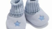 I wanted the boy's first shoes to be posh – but he had other ideas