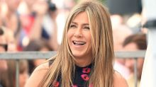 Jennifer Aniston Sports a Wedding Ring on Set of New Movie With Adam Sandler