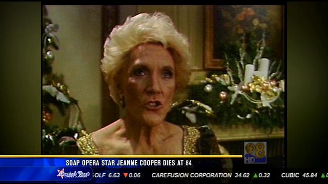 News 8 talks to Jeanne Cooper in 1990