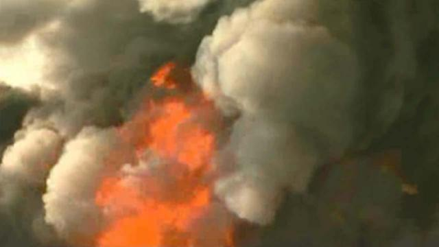 Massive fire breaks out at NJ warehouse