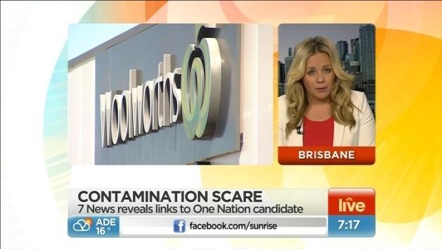 Food contamination scare