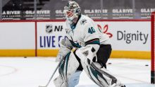 What Devan Dubnyk, Sharks coach Evgeni Nabokov recently have worked on