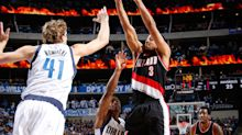 C.J. McCollum hits game-winner to win wild late-game duel with Dirk in Dallas