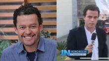 Fernando Rocha comemora aparição do filho no 'JN': 'Roubou meu blazer'