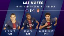 PSG-Monaco (3-1) : Les notes des Parisiens