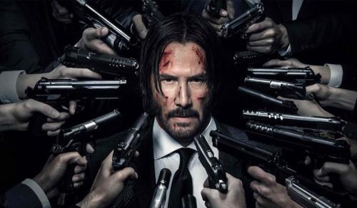 Keanu Reeves as John Wick - Credit: Lionsgate