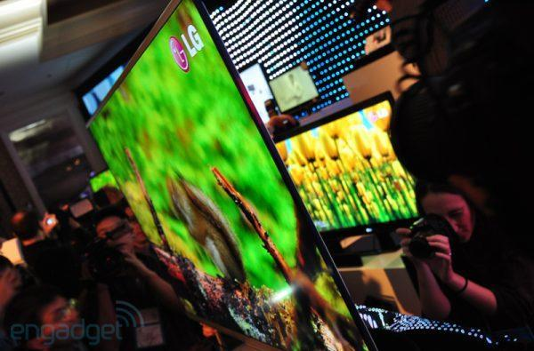 LG showing off even thinner production LCDs at IFA 2010?
