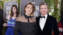 Diese junge Frau stahl den Stars bei den Golden Globes die Show