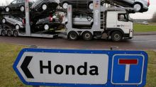 Honda says it could not absorb 10 percent tariff after Brexit