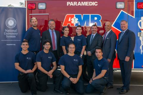 National University Advances Support of Workforce Development Through Partnership with American Medical Response