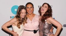 Hilary Swank, Mariska Hargitay, and Debra Messing BFF It Up — at U.S. Open and Beyond