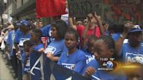 CPS boycott coincides with March on Washington anniversary, budget voting