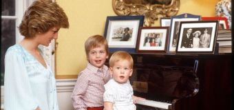 Royal couple's quiet tributes to Diana
