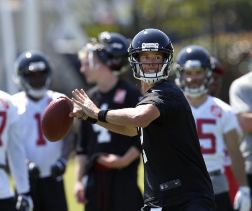 Last season's MVP Matt Ryan will try to lead the Falcons back to the Super Bowl. (AP)