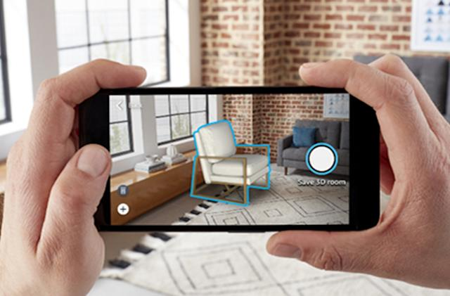 Amazon's latest AR shopping tool fills your space with virtual furniture