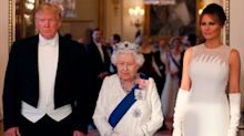 Social media brands Trump 'laughably out of place' at state banquet