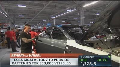Tesla 'Gigafactory' to create 6,500 jobs