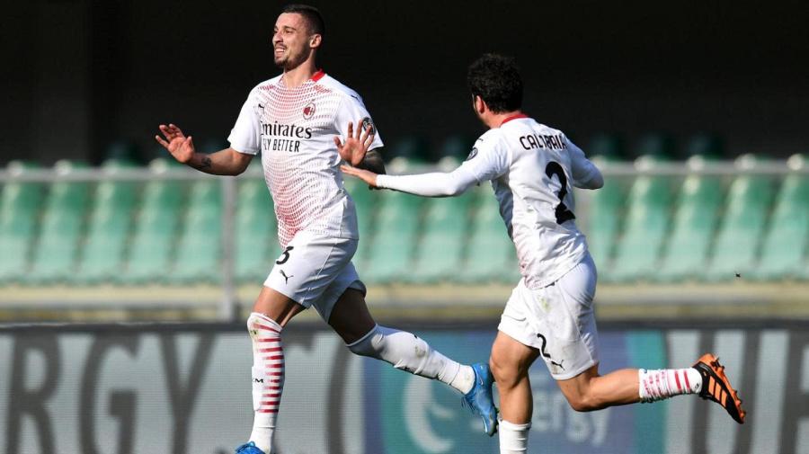 Verona-Milan 0-2 LIVE: Ceccherini manda a lato di un soffio
