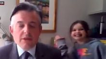 Labour MP interrupted by daughter during live BBC interview