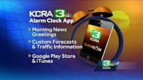 Wake up with the new KCRA 3 Alarm Clock app