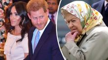 Queen's 'striking' omission suggests Harry and Meghan will lose royal titles