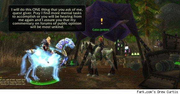 15 Minutes of Fame: Playing WoW with Fark.com's Drew Curtis