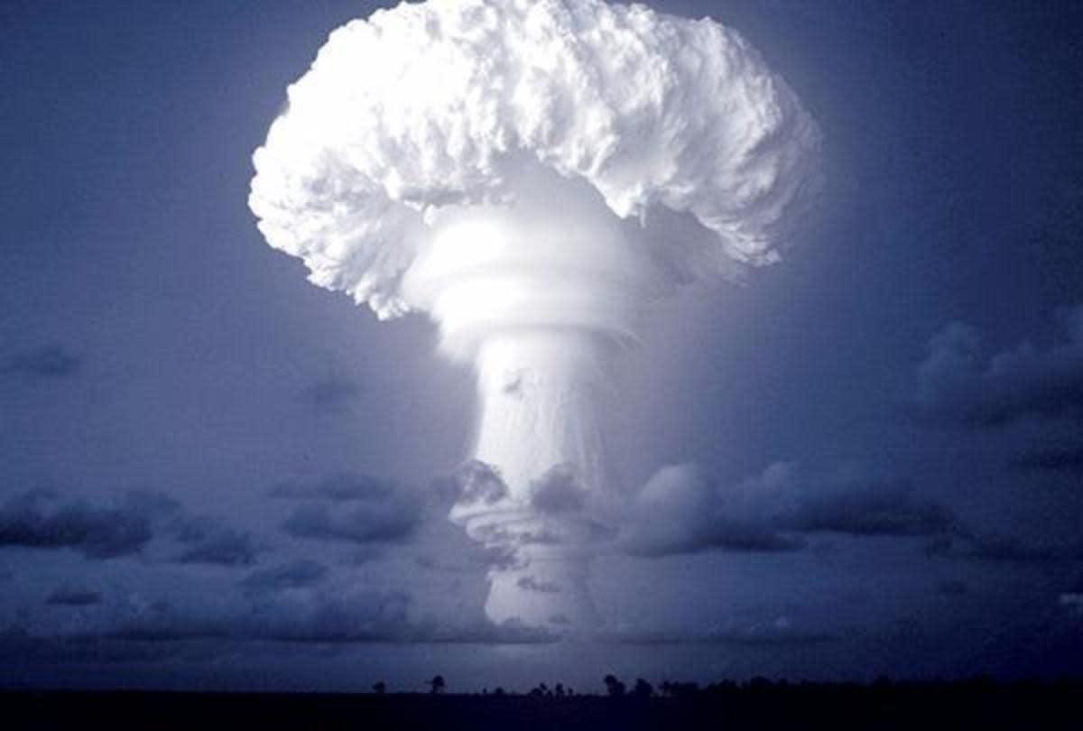 Isso explica por que a Tsar Bomba foi testada uma única vez