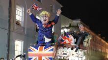 Effigies Of Boris Johnson And Jacob Rees-Mogg Set Alight In 'Bonfire Capital Of UK'