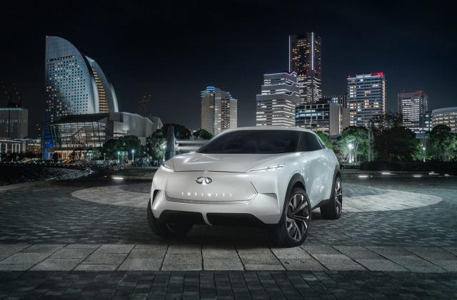 Infiniti unveils its electric QX Inspiration concept