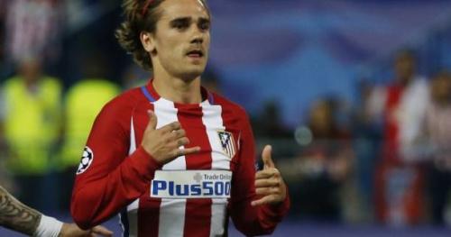 Foot - ESP - Atlético - Atlético de Madrid : Antoine Griezmann associé à Angel Correa contre Villarreal