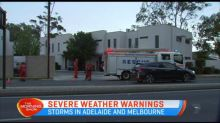 Serve weather warmings in South Australia