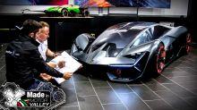 Cómo nace el diseño de un Lamborghini