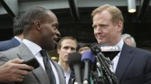 Sounds like Roger Goodell is open to altering marijuana policy and is hearing the 'No Fun League' gripes