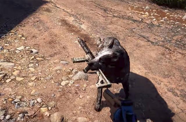 'Far Cry 5' has a cult-fighting dog