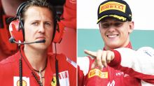 Mick Schumacher's heartbreaking tribute to dad in F1 announcement