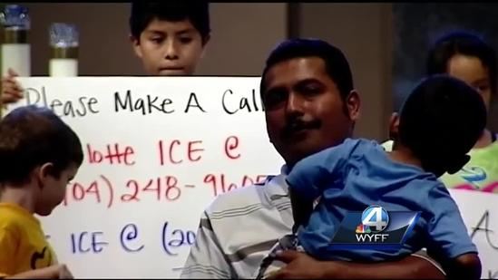 Supporters gather to stop Upstate man's deportation