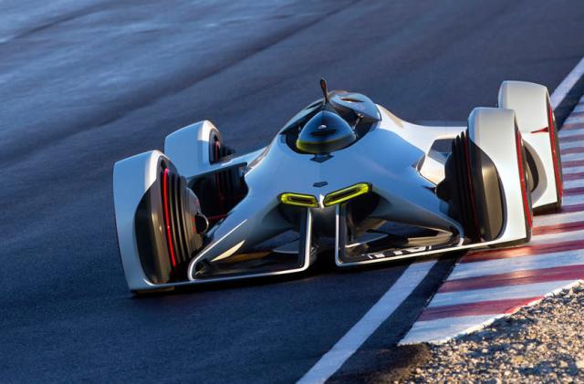 Chevrolet unveils futuristic 'Gran Turismo 6' concept car