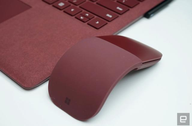 Microsoft's lie-flat Surface Arc mouse is a new take on an old formula