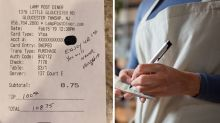 Customer surprises pregnant waitress with very generous tip