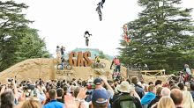 Stunt stars on two wheels at the Goodwood Action Sports arena