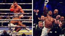 Anthony Joshua vs Wladimir Klitschko: latest reaction - Joshua rallies to force stunning stoppage