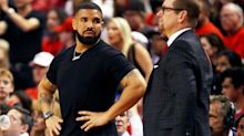 Drake wore a $1 million watch (with a very NSFW message) to Game 5