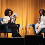Michelle Obama Begins Her Book Tour With a Talk With Oprah