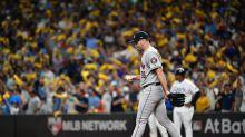 Astros' Justin Verlander yanked early in ALDS Game 4