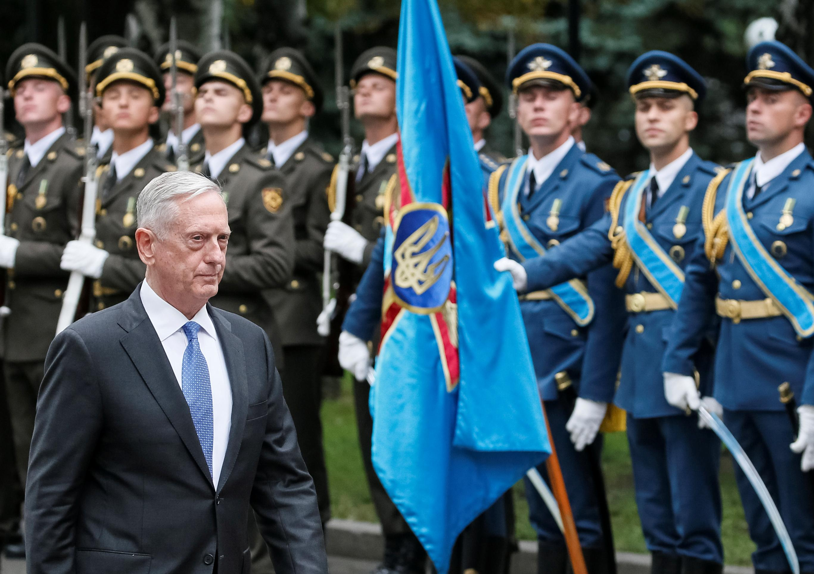 Mattis Russia Uses Violence To Redraw Map of Europe