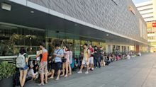 Fans queue for hours for Huawei P30 Series at VivoCity, models sold out before noon