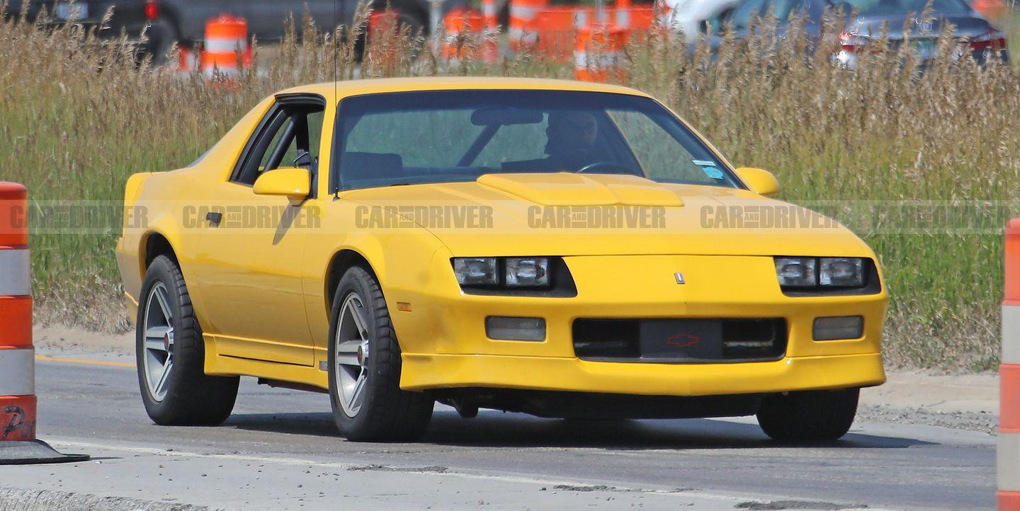 Is This '80s Chevy Camaro Hiding a New Crate Engine?